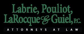 Labrie,  Pouliot, LaRocque, & Guiel Lawyers | Chicopee MA Logo